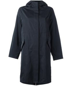 Jil Sander | Hooded Raincoat 32 Silk/Polyester