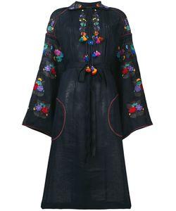 Vita Kin | Платье Шифт С Вышивкой
