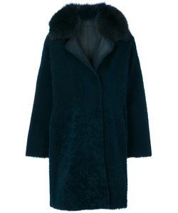 GUY LAROCHE VINTAGE | Vintage Fur Trim Coat