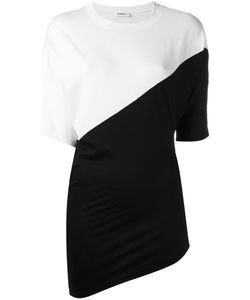 Jil Sander | Contrast Top Medium Cotton/Spandex/Elastane
