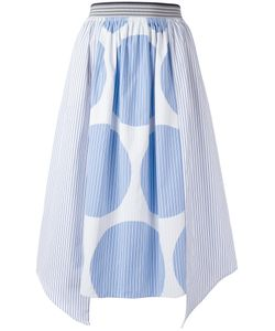 Stella Mccartney | Stripe Panel Skirt Size 42