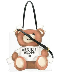 Moschino | Toy Bear Paper Cut Out Toote Leather