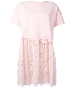 P.A.R.O.S.H. | P.A.R.O.S.H. Lace Detail T-Shirt Dress Size Xs