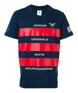 ADIDAS ORIGINALS BY WHITE MOUNTAINEERING | Футболка С Полосками И Логотипом