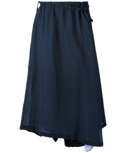 Y'S | Asymmetric Wrap Skirt Size 1