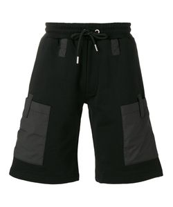 Les Hommes | Side Patch Pockets Sweatshorts