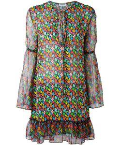 Au Jour Le Jour | Print Chiffon Dress Women