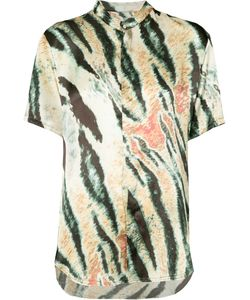 BAJA EAST | Tiger Print Short-Sleeve Shirt