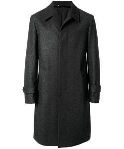 HEVO | Concealed Button Coat Men