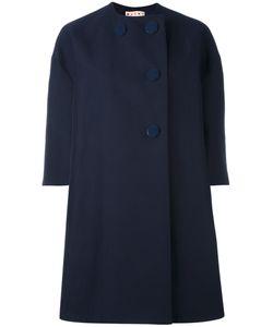 Marni | Пальто С Декоративными Пуговицами