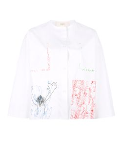 Ports | 1961 Hand Drawing Print Shirt 40 Cotton