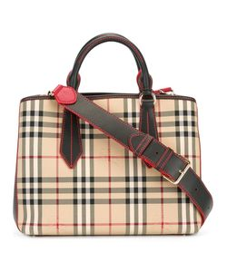 Burberry | House Check Tote Leather/Polyamide/Polyester