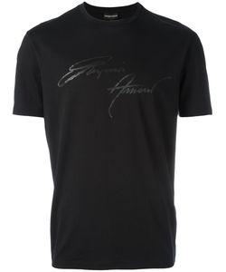 Emporio Armani | Signature Print T-Shirt Size Xxl