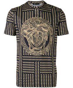 Versace   Tribal Medusa Print T-Shirt Size Large