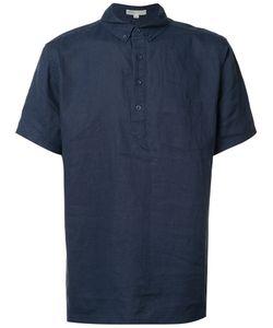 Onia | Josh Pull-Over Linen Shirt Xl Linen/Flax