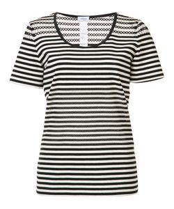 Akris Punto | Striped T-Shirt 4 Cotton/Spandex/Elastane