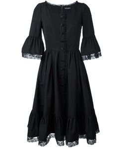 Dolce & Gabbana | Lace Frill Hem Dress 42