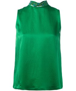 L' Autre Chose | Lautre Chose Embellished High Neck Sleeveless Top