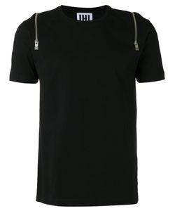 Les Hommes Urban | Zip Detail T-Shirt Xl Cotton
