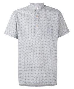 Lardini | Рубашка С Короткими Рукавами И Узором