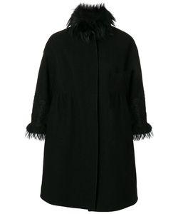Ermanno Scervino | Пальто С Меховой Оторочкой