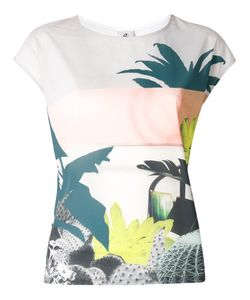 PS PAUL SMITH | Ps By Paul Smith Botanical Print Tank Large Modal/Polyester/Spandex/Elastane