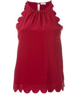 Red Valentino | Scalloped Sleeveless Top