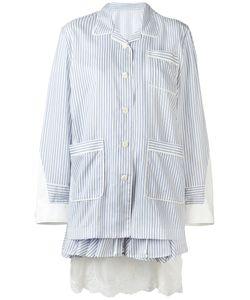 Sacai | Layered Pyjama-Style Dress Size