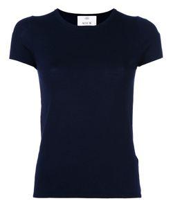 Allude | Short Sleeve Fitted Knit Top Medium Virgin