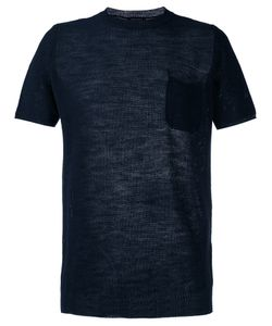 Roberto Collina   Perforated Detail T-Shirt Size 52