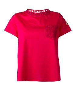Moncler | Lace Pocket T-Shirt Size Xs