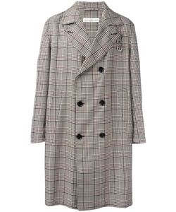 Golden Goose   Deluxe Brand Checked Double-Breasted Coat Medium