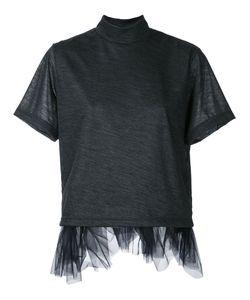 Kolor | Tulle Trim T-Shirt Size