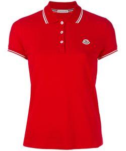 Moncler | Рубашка-Поло С Контрастной Окантовкой