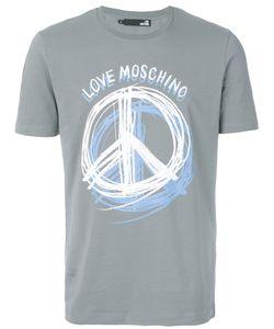 Love Moschino | Футболка С Принтом Пацифистского Знака