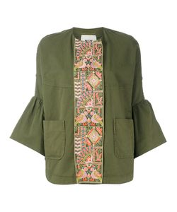 BAZAR DELUXE | Embroidered Panel Jacket