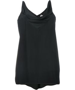 Rick Owens | Cowl-Neck Top 38 Acetate/Silk