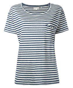 Chinti And Parker | Breton Stripe T-Shirt Large Cotton