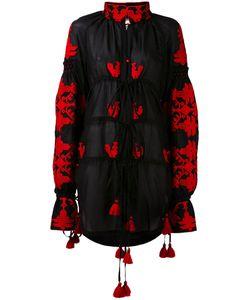 Yuliya Magdych | Tassel Detail Drawstrings Dress