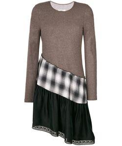 MM6 by Maison Margiela | Асимметричное Ярусное Платье