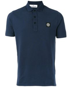 Stone Island | Logo Patch Polo Shirt Size Large