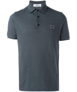 Stone Island   Logo Polo Shirt Xxl Cotton