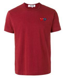 Comme des Gar ons Play | Comme Des Garçons Play Heart Patch T-Shirt Size