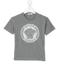 Young Versace | Medusa Logo Print T-Shirt 6 Yrs