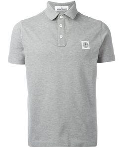 Stone Island | Logo Polo Shirt Medium Cotton/Spandex/Elastane