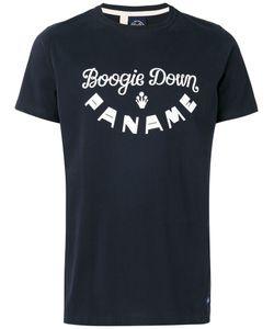 Bleu De Paname | Printed Logo T-Shirt Size Medium