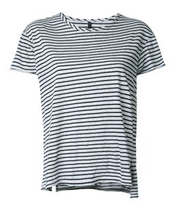Nobody Denim | Organic Fine Stripe Basic Tee