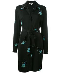 Diane Von Furstenberg | Bird Print Shirt Dress Size 8