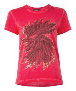 Diesel | Feathers Print T-Shirt