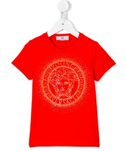 Young Versace | Medusa Studded T-Shirt 14 Yrs